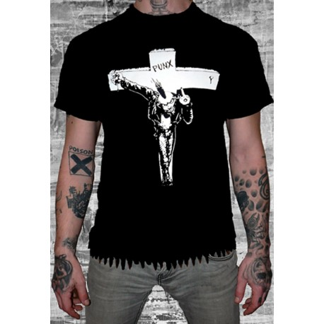 CAMISETA PUNK CRUCIFIED