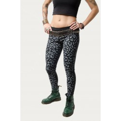 LEGGINS BICOLOR LEOPARDO GRIS POLIPIEL