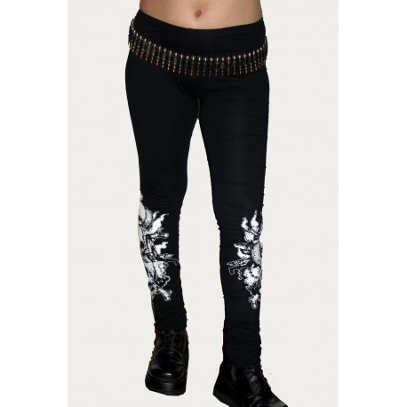 LEGGINS CANIBAL SKULLS