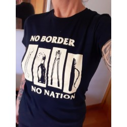Camiseta Chica NO BORDERS NO NATION